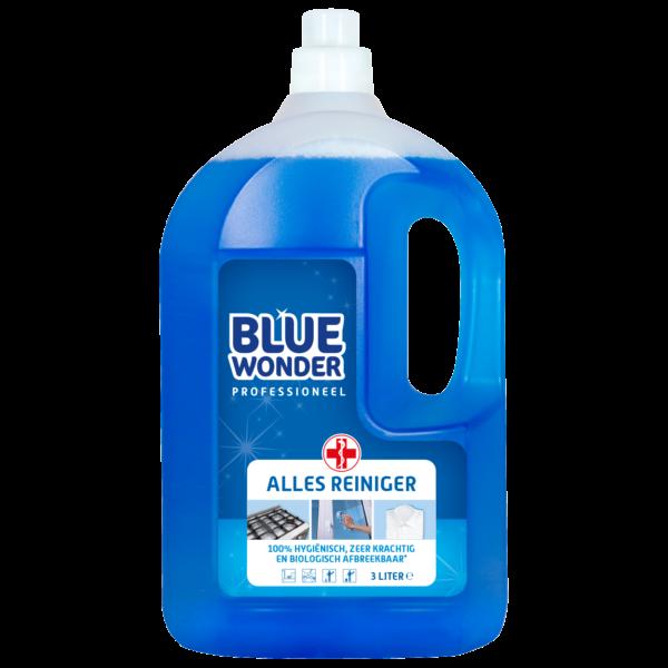 8712038000069 Blue Wonder Allesreiniger Professioneel 3000ml front shop