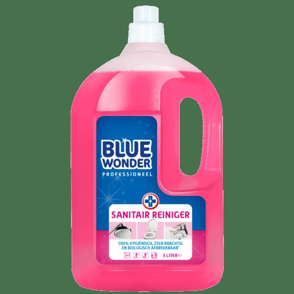 8712038000076 Blue Wonder Sanitairreiniger Professioneel 3000ml front shop 1