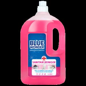 8712038000076 Blue Wonder Sanitairreiniger Professioneel 3000ml front shop