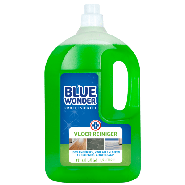 8712038000083 Blue Wonder Vloerreiniger Professioneel 1500ml front shop 1