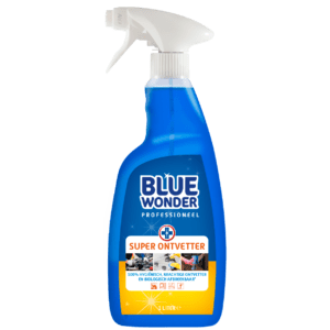 8712038000243 Blue Wonder Super Ontvetter Professioneel 1000ml SPRAY front shop 1