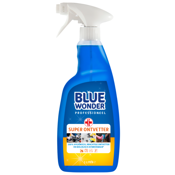 8712038000243 Blue Wonder Super Ontvetter Professioneel 1000ml SPRAY front shop
