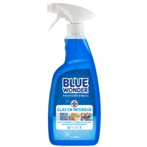 8712038000861 Blue Wonder Glas en Interieur Professioneel 1000ml SPRAY front shop 1