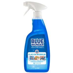 8712038000861 Blue Wonder Glas en Interieur Professioneel 1000ml SPRAY front shop 1