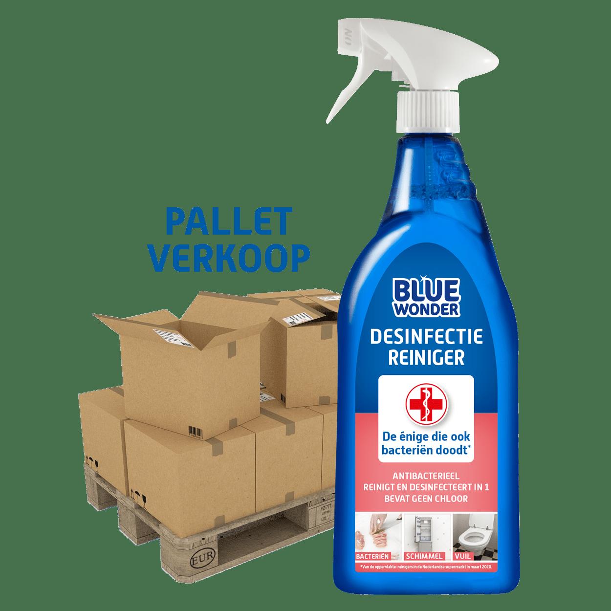 8712038000892 Blue Wonder Desinfectie reiniger spray PALLET