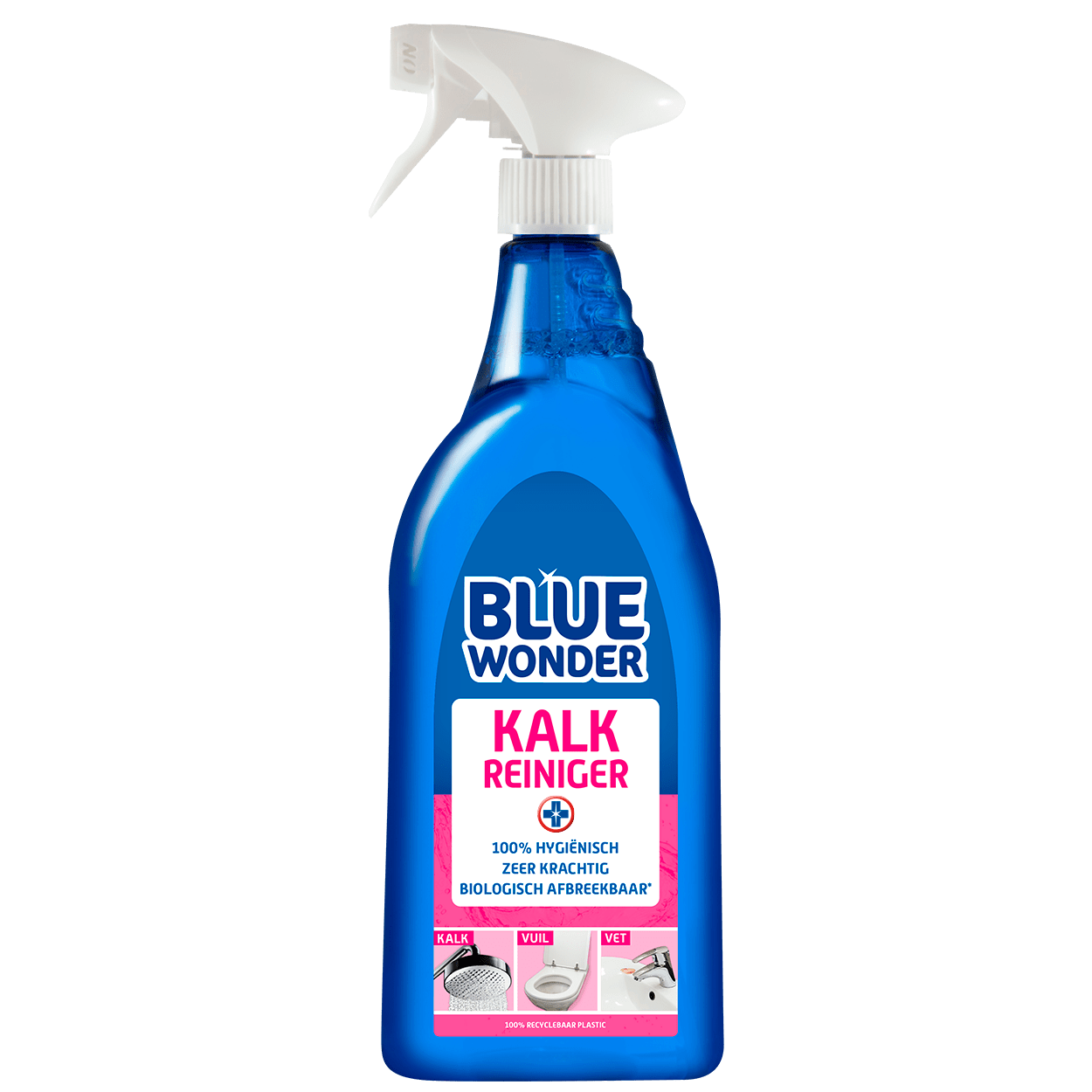 8712038000946 Blue Wonder Kalk reiniger 750ml spray 2020 07 01 front 2