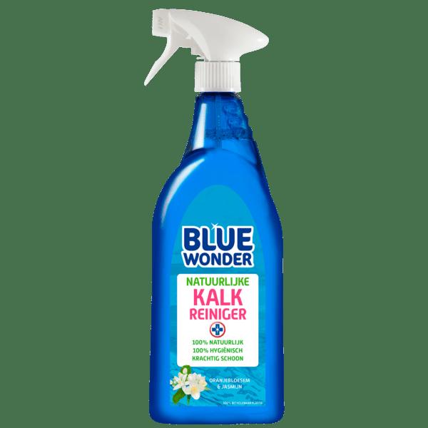 8712038001684 Blue Wonder Natuurlijke Kalk reiniger 750ml spray 2020 07 01 front 2