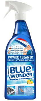 8712038001790_Blue-Wonder_Power-Cleaner_750ml_spray_EN-DU-FR-ES-NL_front