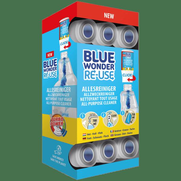 8712038001998 Blue Wonder Allesreiniger dispenserdoos