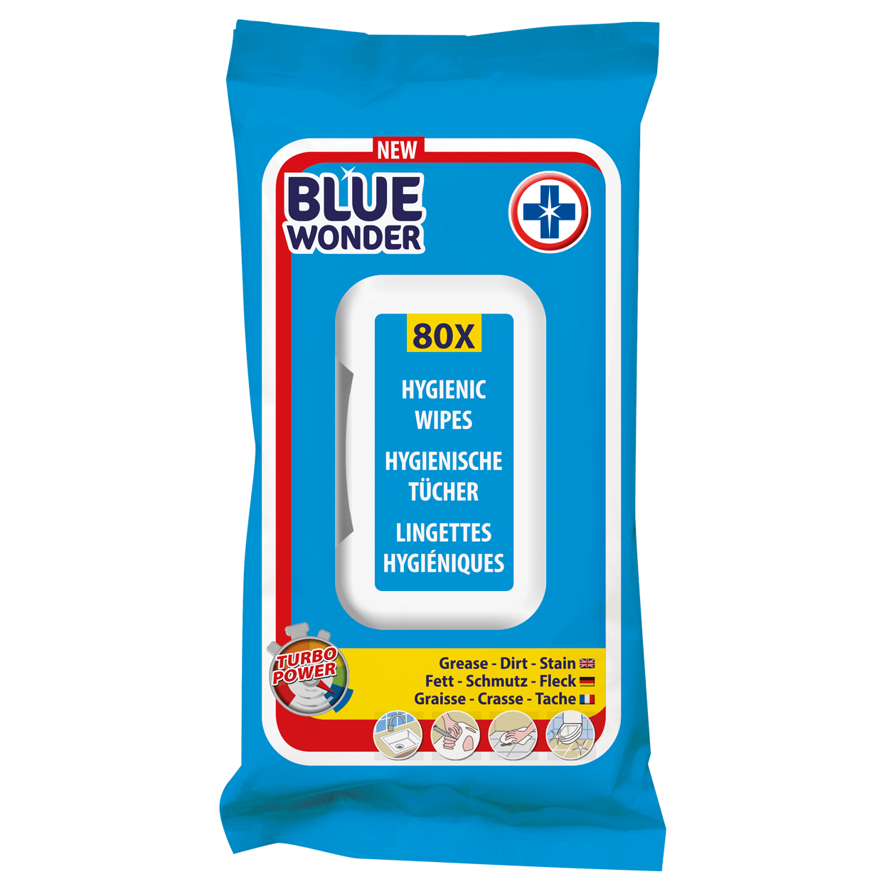 Removes grease, dirt and all kinds of stains (even from clothing). Can be used to clean doors, kitchen, bathroom, countertop, extractor hood, cupboards, windows, mirrors, car rims, wood and garden furniture, to name a few. Ready for use. Ideal for quick, daily cleaning jobs.