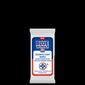 8712038002131 Blue Wonder Disinfectant wipes Desinfektionstucher Lingettes desinfectantes Minipack 1x8 front