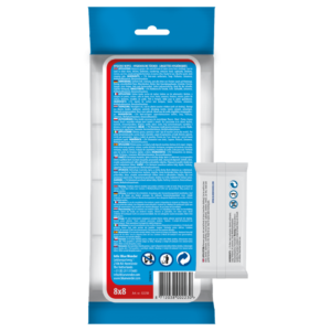 Hygienic wipes 8x8