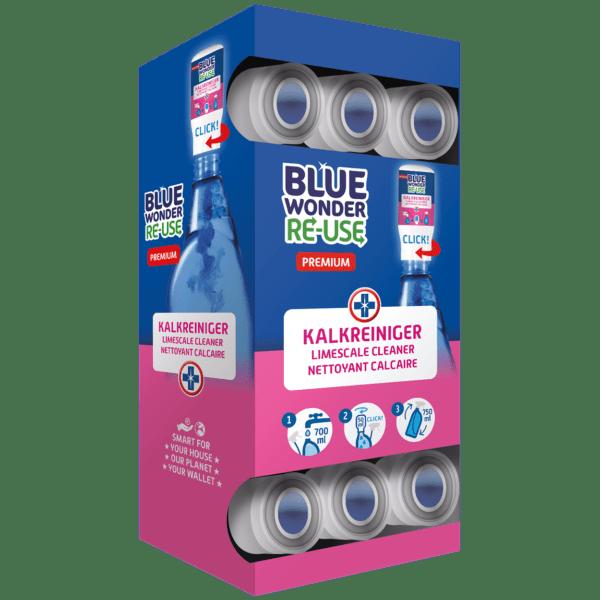 8712038002773 Blue Wonder RE USE dispenserdoos Kalkreiniger
