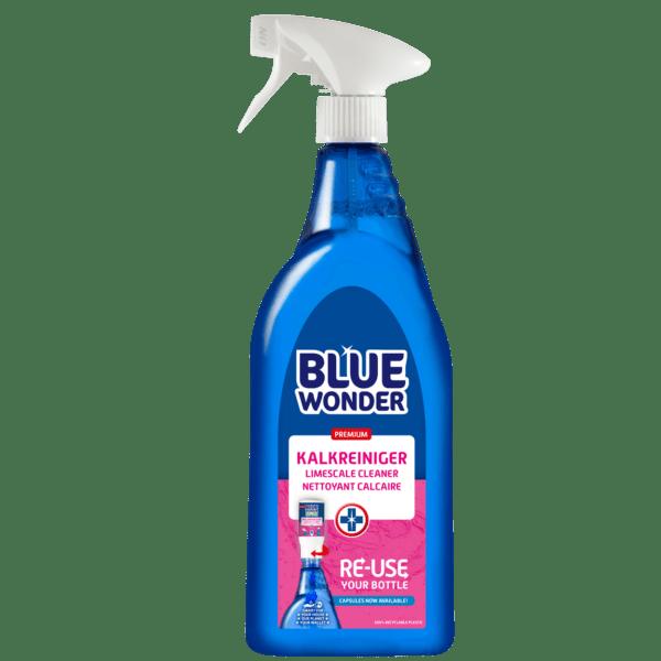 8712038002810 Blue Wonder Kalkreiniger NL DE EN FR 750ml spray front