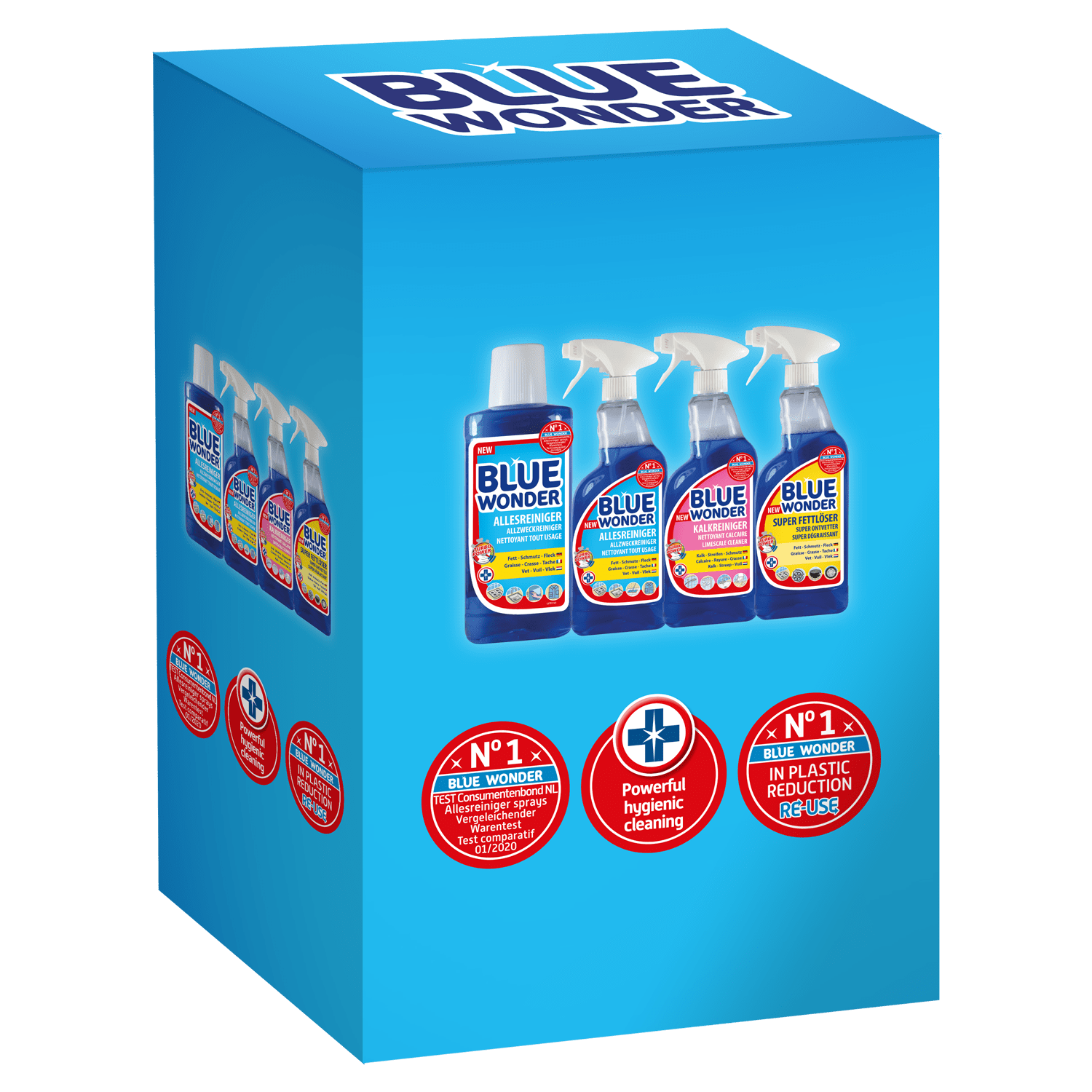 All purpose cleaner All purpose cleaner spray Limescale cleaner spray Super Degreaser spray