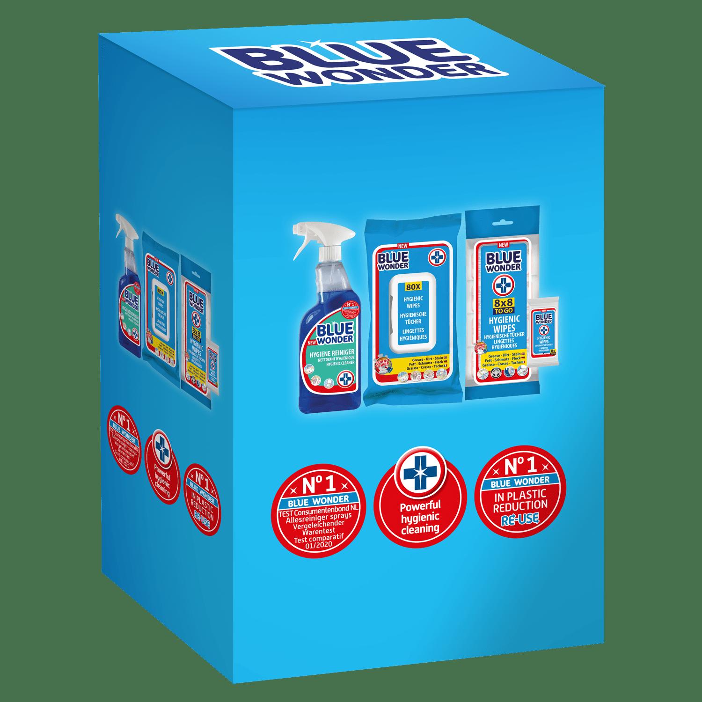 Hygiene cleaner spray Hygienic wipes 8 pcs Hygienic wipes 8×8