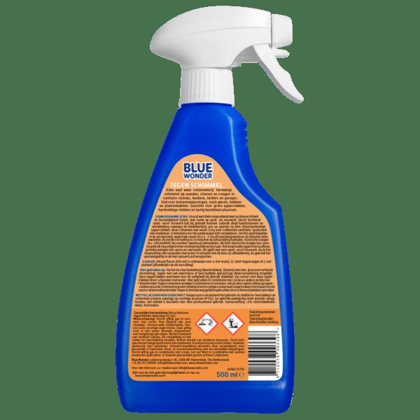 8712038003398 Blue Wonder Tegen Schimmel 500ml spray back shop