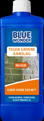 8712038003435 Blue Wonder Tegen Groene Aanslag 500ml spray front