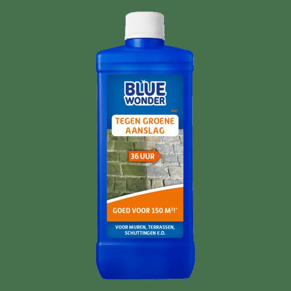 8712038003435 Blue Wonder Tegen Groene Aanslag 500ml spray front shop