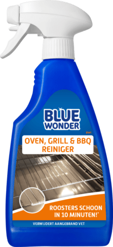 8712038003565 Blue Wonder Oven Grill BBQ Reiniger 500ml spray front