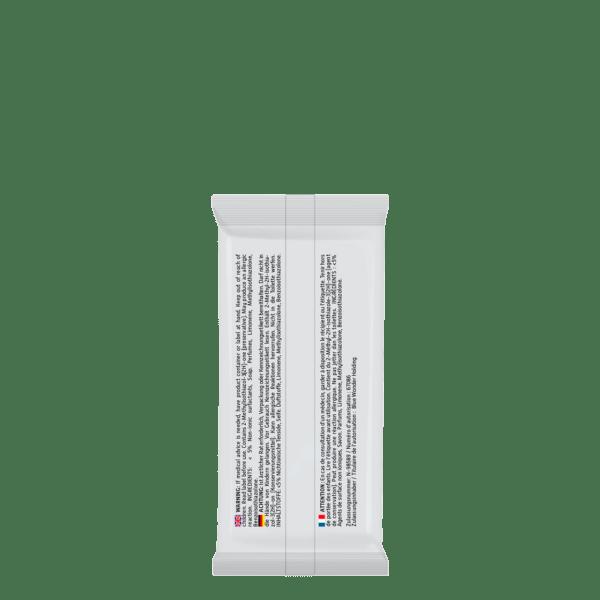 Blue Wonder Disinfectant wipes Desinfektionstucher Lingettes desinfectantes 1x8 back