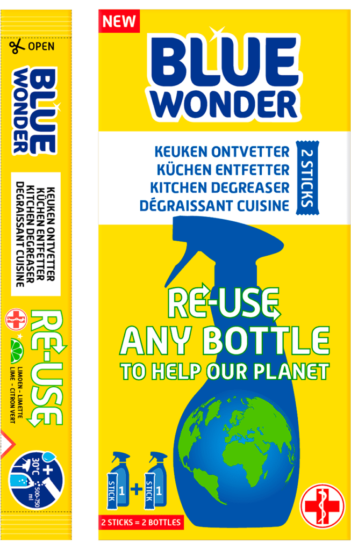 Blue Wonder RE USE Keuken ontvetter boxstick3 1