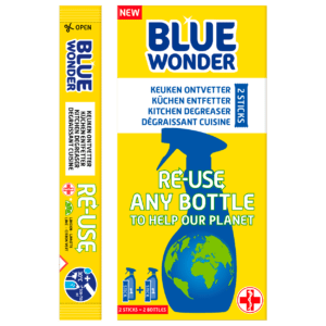 Blue Wonder RE USE Keuken ontvetter boxstick3