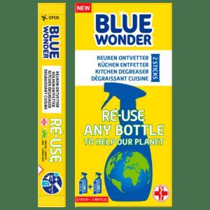 Blue Wonder RE USE Keuken ontvetter boxstick3