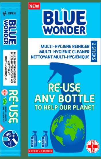 Blue Wonder RE USE Multi Hygiene boxstick 1