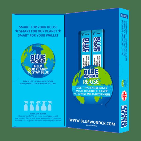 Blue Wonder RE USE OPEN 1 Multy Hygiene Reiniger 1