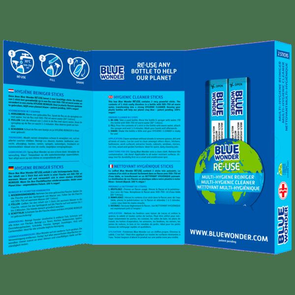 Blue Wonder RE USE OPEN 2 Multy Hygiene Reiniger 1