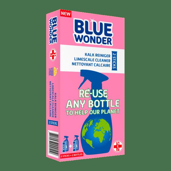 Blue Wonder RE USE front Kalk Reiniger 1