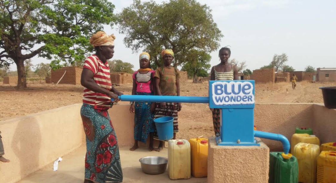 Bluewonder in Burkina
