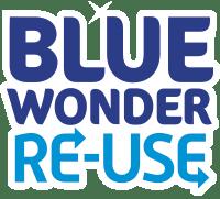 blue wonder reuse logo