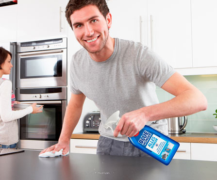 blue wonder schoonmaakwijzer keuken