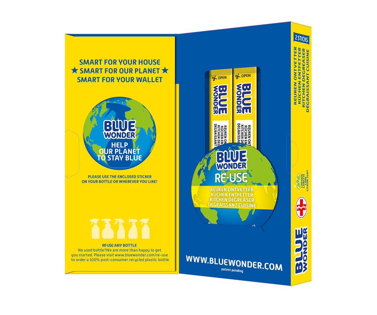 blue wonder re use box open1 keuken kuchen kitchen cuisine