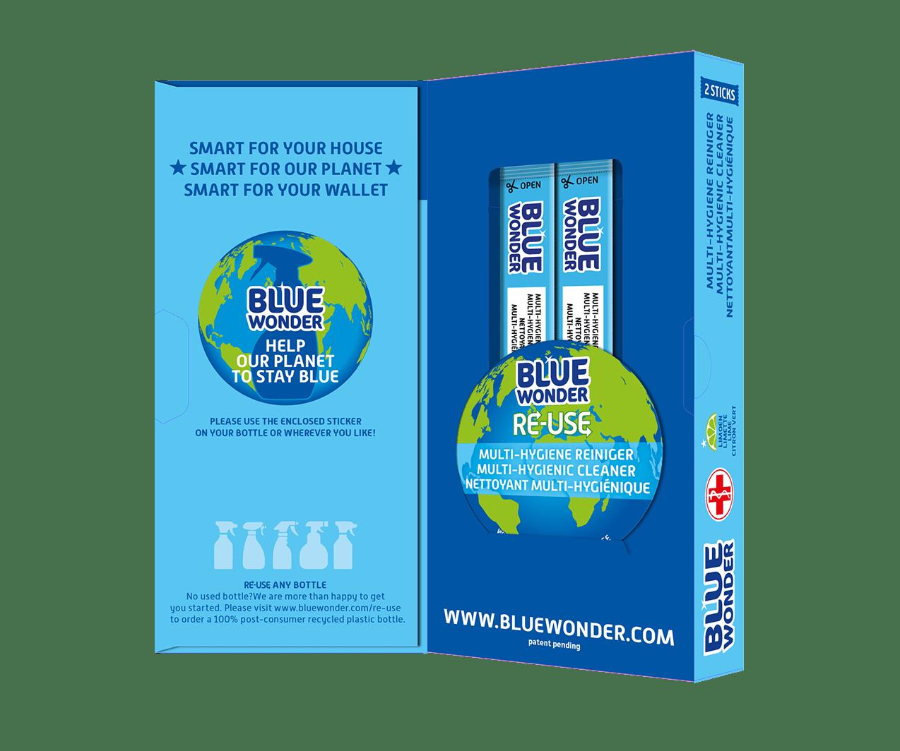 blue wonder re use box open1 multi hygiene