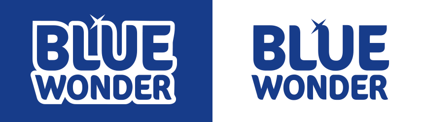 blue wonder logo 2020 afbeelding
