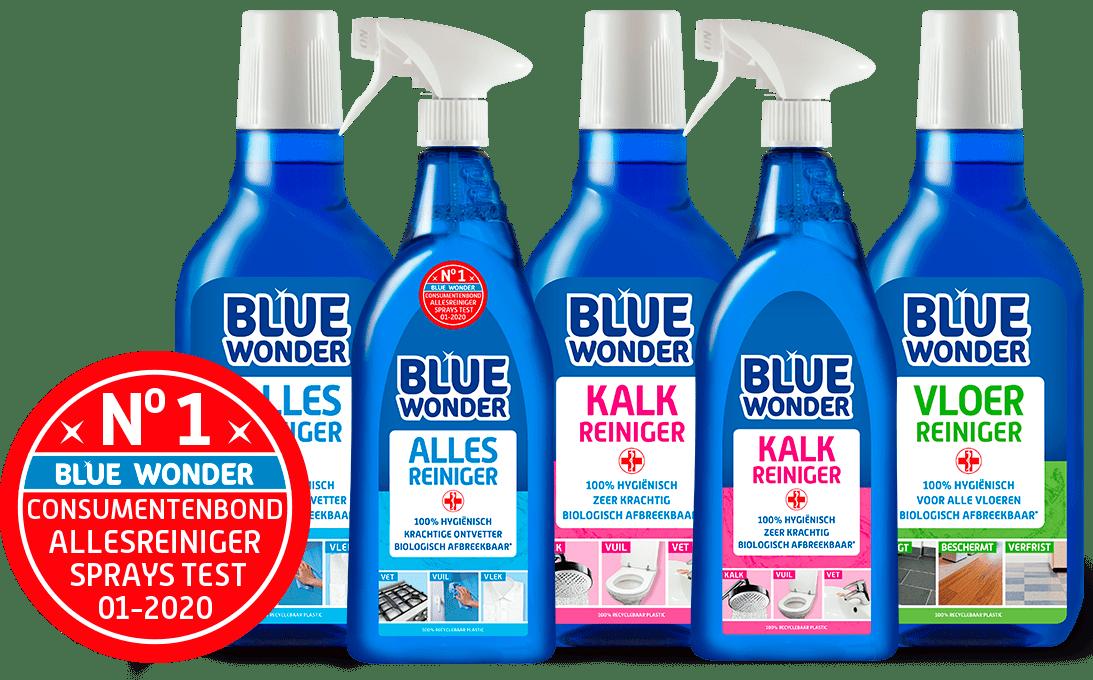 blue wonder productblok kracht reinigers 2020 groot