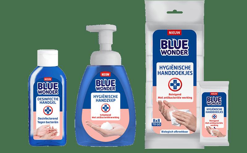 Handhygiëne en Desinfectie van BlueWonder