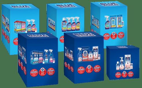 blue wonder productblok saleskits 490