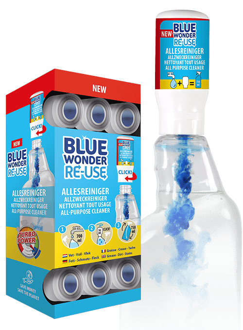 blue wonder re use capsules refill 4