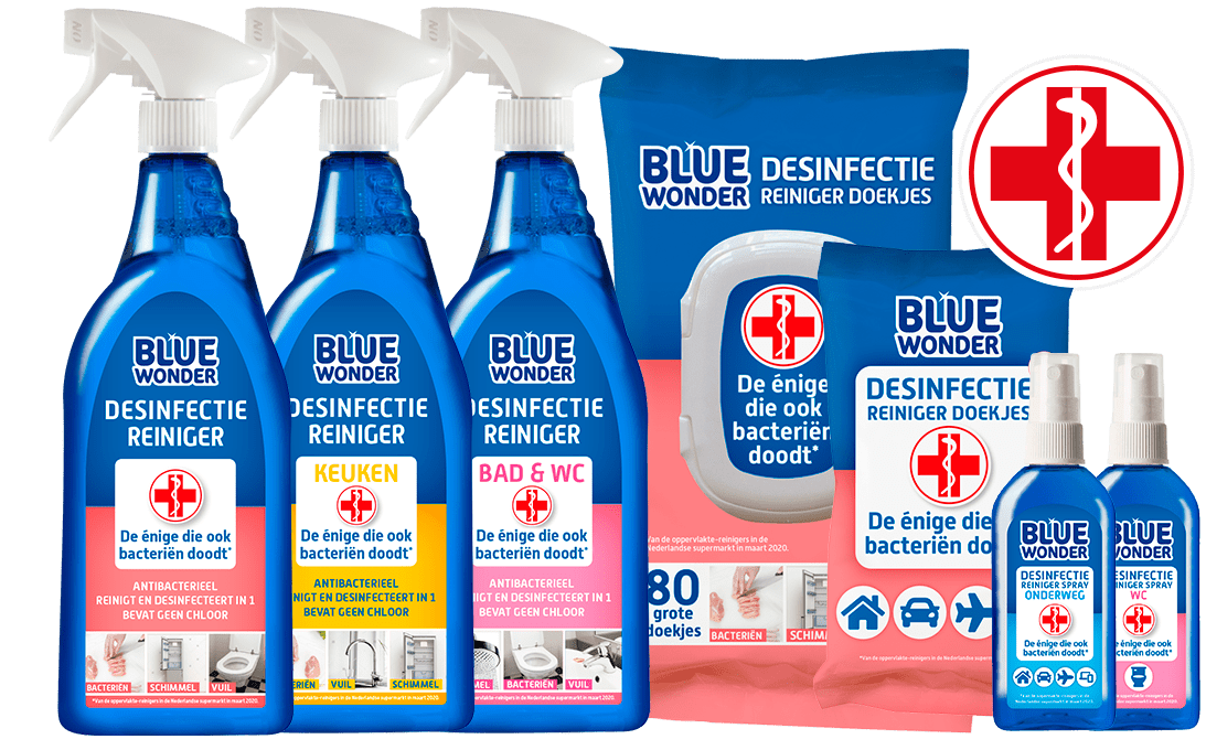 bluewonder desinfectiereinigers 1