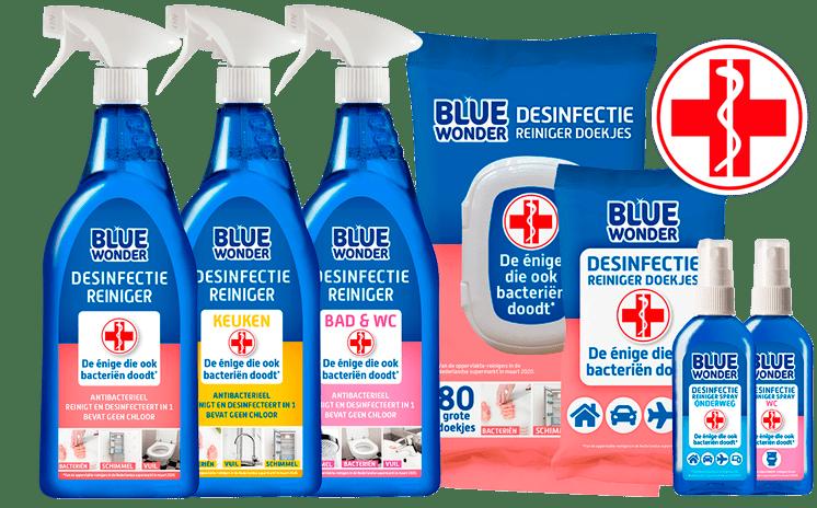 bluewonder desinfectiereinigers 746