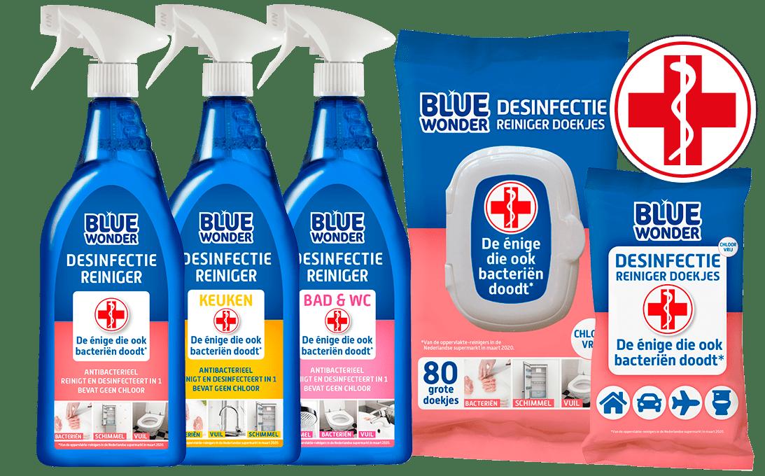 bluewonder desinfectiereinigers