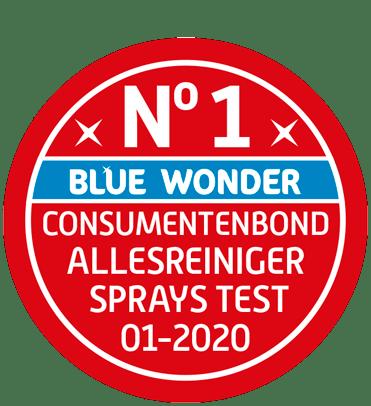 nr 1 allesreinigers consumentenbond sprays test blue wonder 1