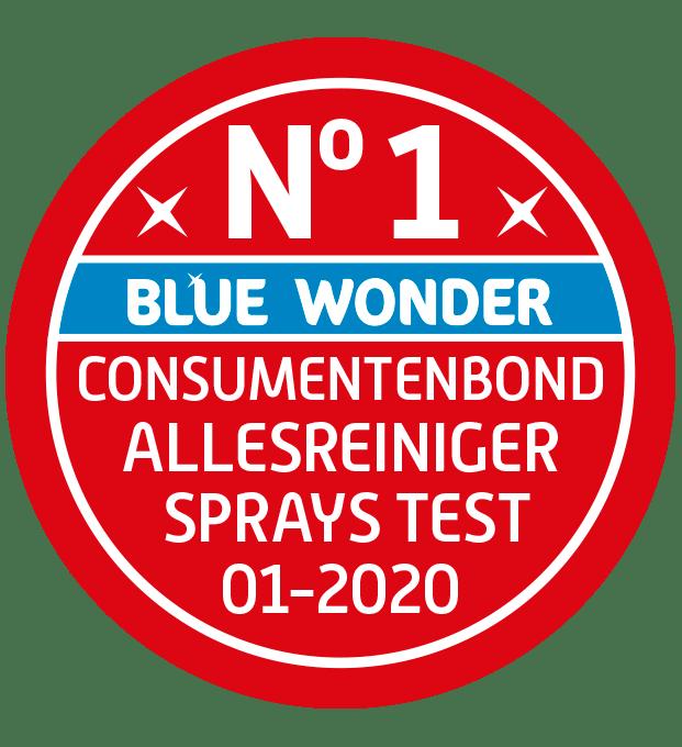 nr 1 allesreinigers consumentenbond sprays test blue wonder
