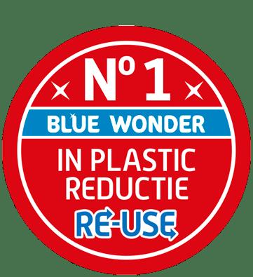 nr 1 plastic reductie blue wonder 1
