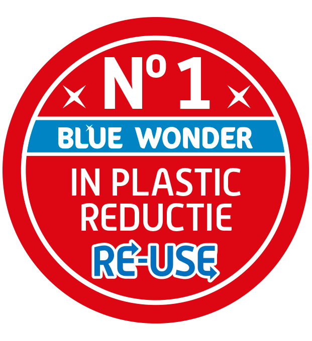 nr 1 plastic reductie blue wonder