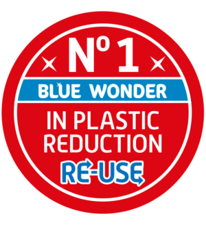 Re-use any spray bottle and turn it into a powerful cleaner with Blue Wonder RE-USE! Smart for your home, smart for our planet, smart for your wallet!